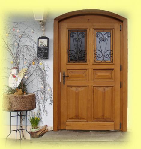 Haustüren, Innentüren, Fenster Und Kastenfenster Aus Massivholz