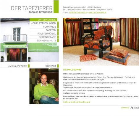 Der tapezierer salzburg for Tapezierer und dekorateur
