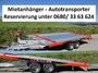 KMK Verleih | Mietanhänger - Autotransporter