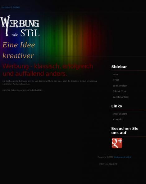 Werbung mit Stil Werbeagentur Riesinger Oberösterreich Grieskirchen