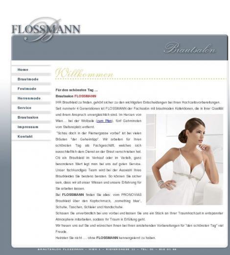 Brautsalon Flossmann Wien Flossmann At