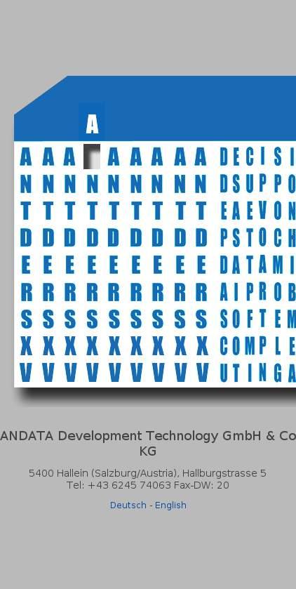Andata Entwicklungstechnologie GmbH & Co KG