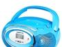 Radio mit CD-Laufwerk BRIGMTON W-410-A Blau