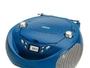 Radio mit CD-Laufwerk Daewoo DBF105 Blau