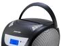 Radio mit CD-Laufwerk BRIGMTON W-411-BTN Schwarz