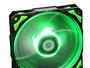 Nox Lüfter Box HFAN 12cm Led grün