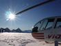 Gletscherlandung mit dem Helikopter