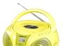 Radio mit CD-Laufwerk BRIGMTON W-408-V Gelb