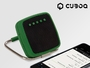 CuboQ Solar Power Tragbarer Bluetooth Lautsprecher