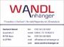 Wandl Anhänger - Gerhard Wandl