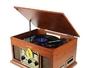 Plattenspieler Sunstech PXRC5CD WD Holz
