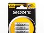Ultra Sony R03 AAA 1,5V Zink-Kohle-Batterien (4er Pack)